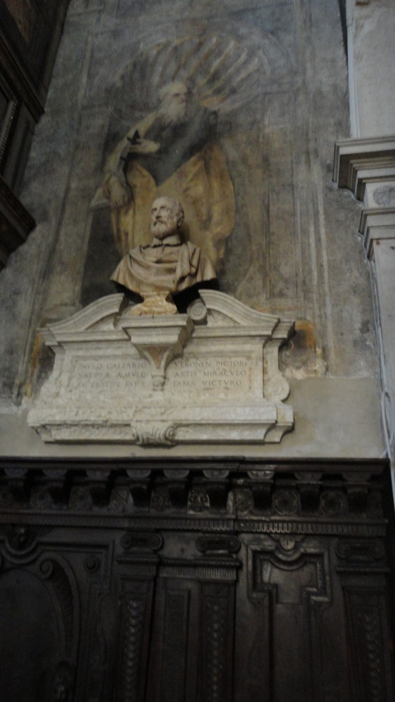 The Veronese Monument in the Church of San Sebastiano
