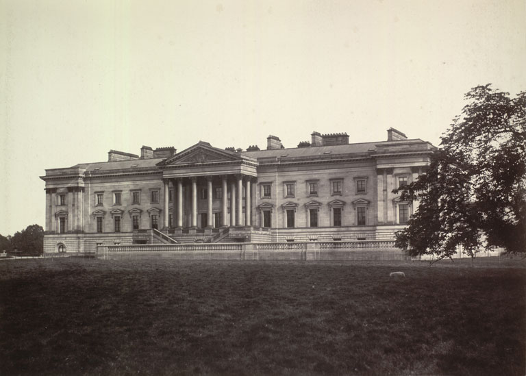 North front, Hamilton Palace, Hamilton, South Lanarkshire © Glasgow City Libraries, Information and Learning, Licensor www.scran.ac.uk